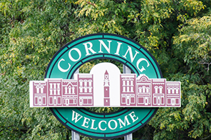 Welcome Corning Web